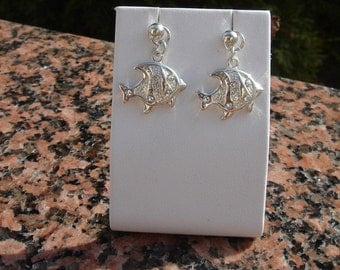 925 silverfish earrings! Very sweet!