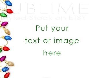 Christmas Styled Stock / Christmas Stock / Christmas Background / Christmas Mock Up / Christmas Desktop / Christmas Photo / StockStyle-585