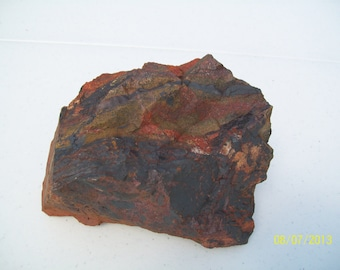 Large Jasper rock with Iron minerals