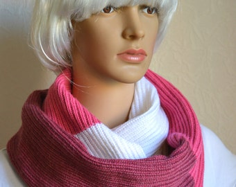 Handmade women's snood scarf