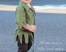 Adorable 2T-4T Peter Pan for Toddlers, Peter Pan Enchanted Party Costume