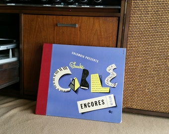 "Frankie Carle, Jazz Pianist, ""Encores"" presents Horace Heidt -10 inch 78 RPM Records Set Columbia C-70, Original Cover - Super Clean."