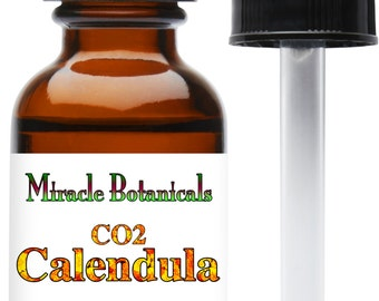 Miracle Botanicals CO2 Extracted Calendula Essential Oil 15ml...Free US Shipping