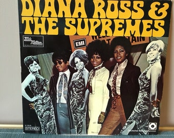 Diana Ross and the Supremes German Issue LP RARE vintage record sixties 60s 1960s baby love come and see about me stop in the name of love