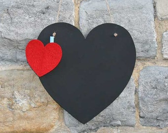 A Wonderful Heart Chalk Board. Great for the childrens bedroom, hallway or kitchen #DCSXHHETC