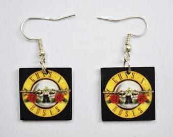 Guns n Roses Earrings