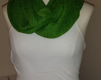 Infinity Scarf - Thick Green Sweater