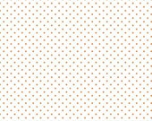 NEW! Orange Swiss Dot On White from Swiss Dots Collection by Riley Blake 100% Cotton Fabric