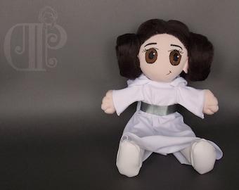 Princess Leia Organa Star Wars Plush Doll Plushie Toy