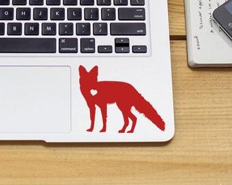 Fox Sticker Fox Decal Car Laptop Vinyl Decal Sticker