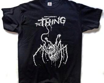 The Thing T-SHIRT John Carpenter Horror Alien
