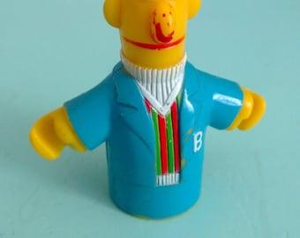 Vintage Sesame Street Bert Figure 1980 Muppets, Inc. Free Shipping