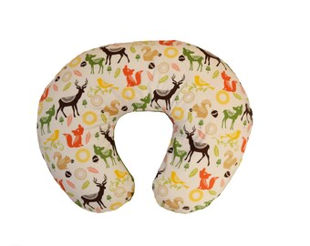 Animal Breastfeeding Pillow : Animal minky boppy Etsy