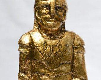 Tyr - Handmade gilded  sculpture