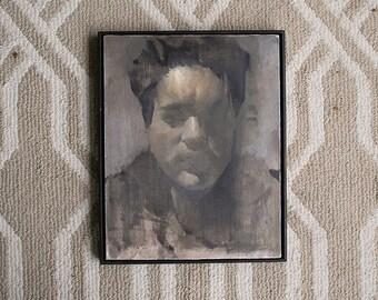 "Waking | Original oil painting, 11""x14"""