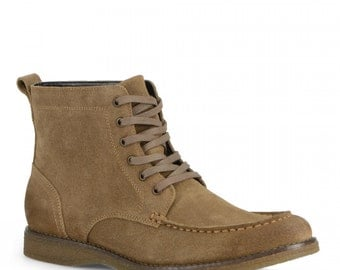 Suede leather shoes-for men-mashup fashion-with laces-in variety colors