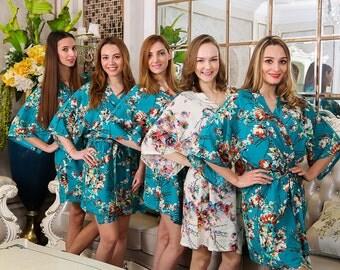 F07187 Unique Party Gifts Bridesmaid Kimono Maxi Dress Japanese Kimono Pattern Yakuta Kimono Robe Floral Tops Cotton KImono Dress Tops