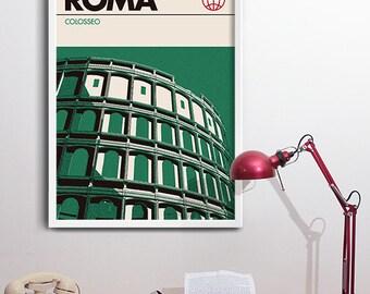 Rome Graphic Art Print