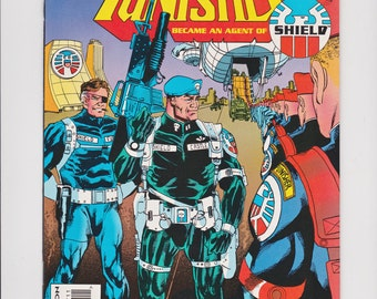 What If...? #57 The Punisher Became An Agent of Shield Marvel Comics 1994 VF-NM Comic Book S.H.I.E.L.D. Nick Fury Recruits Frank Castle