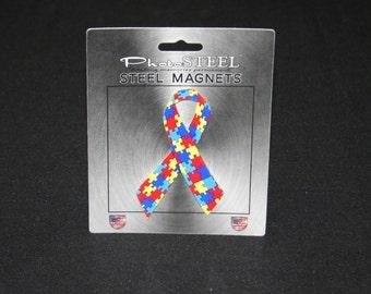 Magnet Autism Ribbon