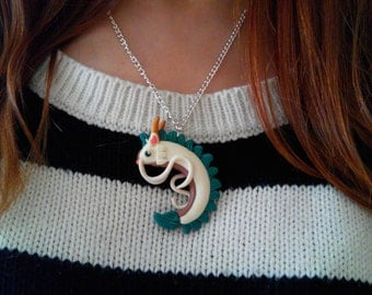 Haku Necklace Spirited Away Studio Ghibli Dragon Drake Chihiro