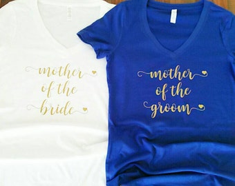 mother of the bride. mother of the groom. mother of the bride gift. wedding party gifts. wedding party shirts.