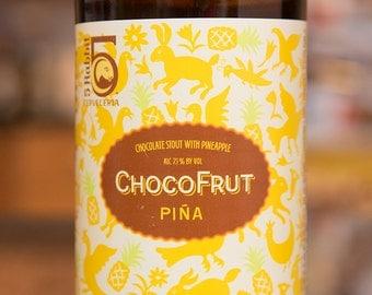Candle   5 Rabbit Chocofruit Pina