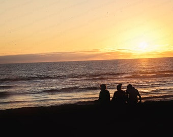 Sunset Digital Download Photography, Nautical Home Decor, Coastal Landscape, Sunset Wall Art Gift, Office Art Photo, Sunset Sillouette Art