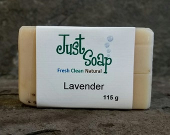 Lavender Soap, Exfoliating Soap, Goat Milk Soap