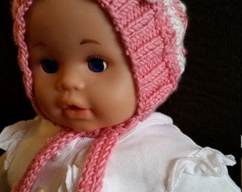 Baby Girl Hat for 0-3 months