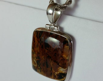 Gorgeous Pilbara  Jasper Pendant Chain not included