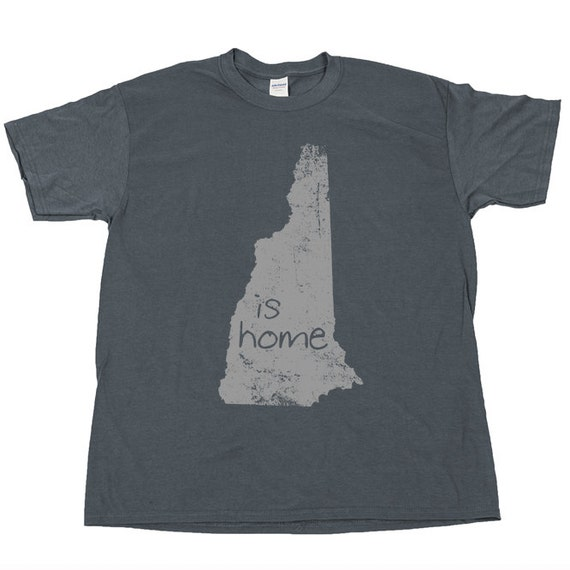 new hampshire is home state t shirt tee pride by juiceboxteez