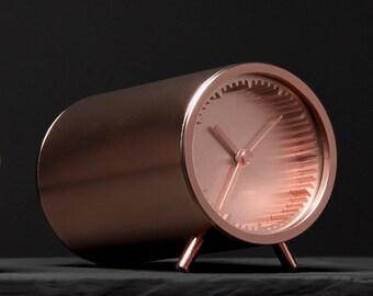 Copper Tube Clock