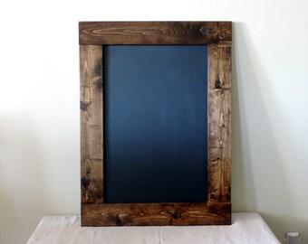 "Rustic Chalkboard 30.5x22.5"", Wedding sign, Chalkboard sign, Rustic blackboard, Wedding sign, Reception sign, Restaurant chalkboard"