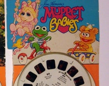 Muppet Babies Viewmaster Reel Set, Viewmasters, 3-D Toy, View-master, Viewmaster Reels, Vintage Toy, View-masters, Collectible Toys, Cartoon