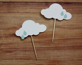 Baby Shower Cupcake Toppers (set of 20)