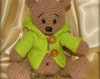 Bear with jacket