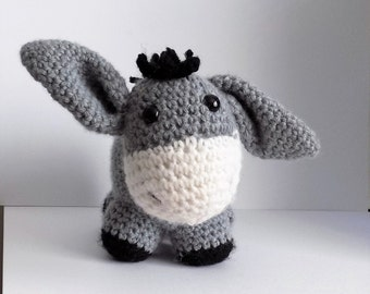 Free Dk Baby Knitting Patterns : Toy Donkey - KNITTING PATTERN   pdf file by automatic download from RianAnder...