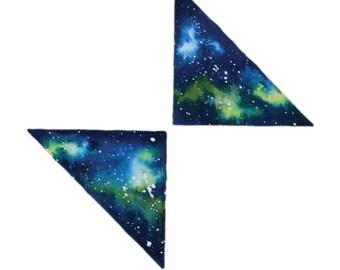 Tri Galaxy Watercolour Print