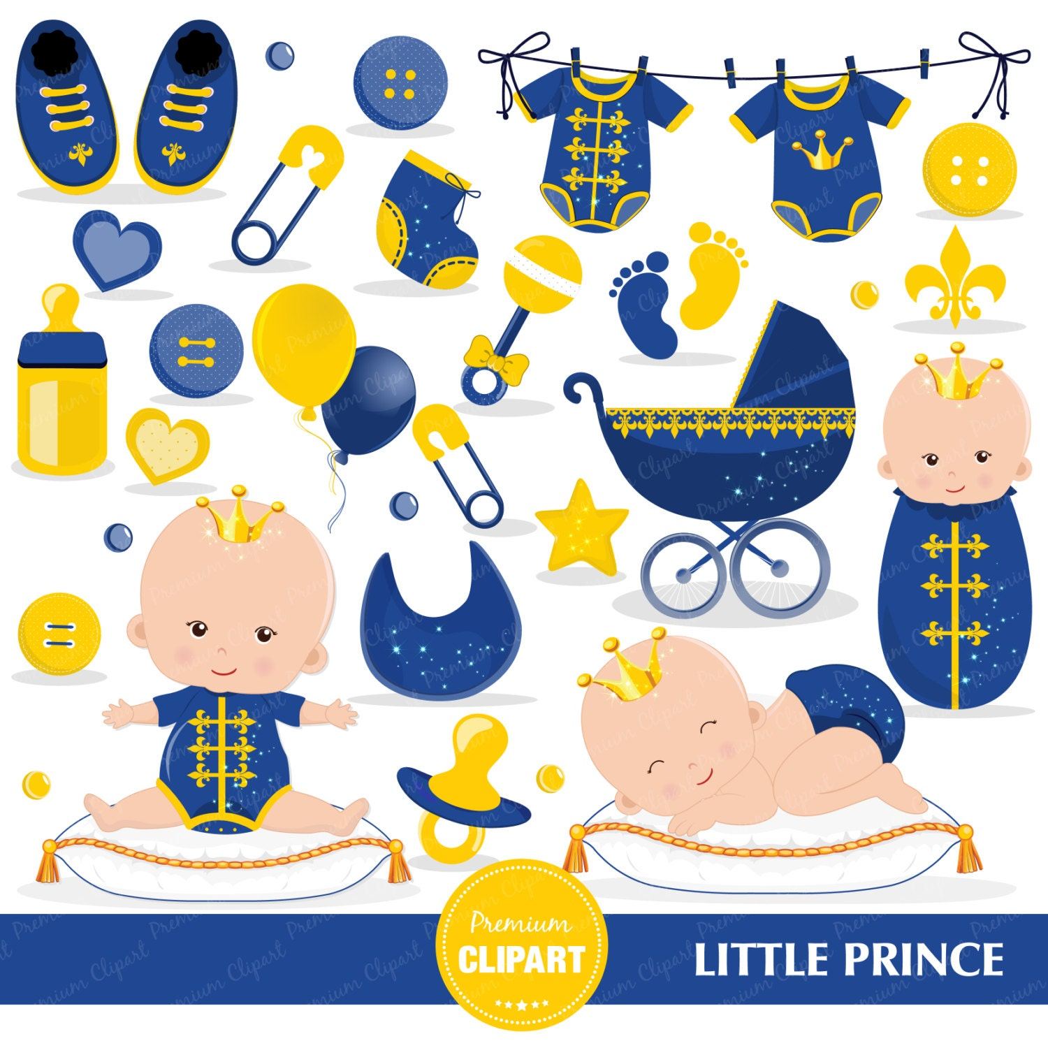 Prince baby shower clipart baby prince clipart prince baby