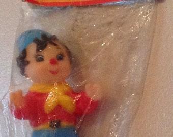 Vintage Noddy Vinyl Squeaker Toy