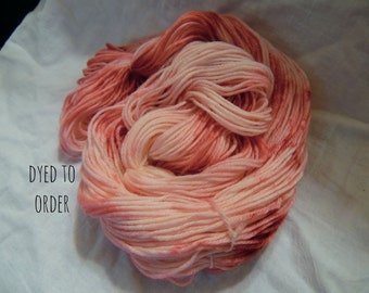 Aphrodite - Hand-Dyed / Hand-Painted Yarn - Superwash Merino Wool - Dyed To Order