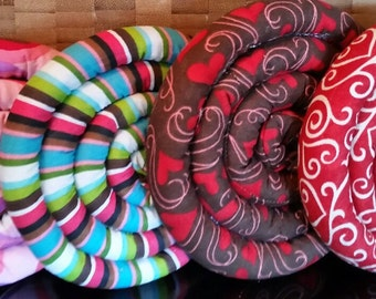 Trivets hot pads for teapots, mugs, Valentines gift heart/stripes cotton fabrics hand sewn rice filled FREE Ship US kitchen decor accessory