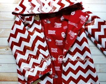 Ready to Ship Oklahoma rain coat, Oklahoma jacket, Oklahoma team