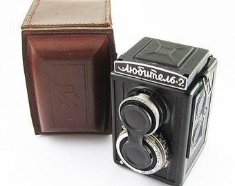 LUBITEL 2 Russian Medium Format TLR Camera EXCELLENT