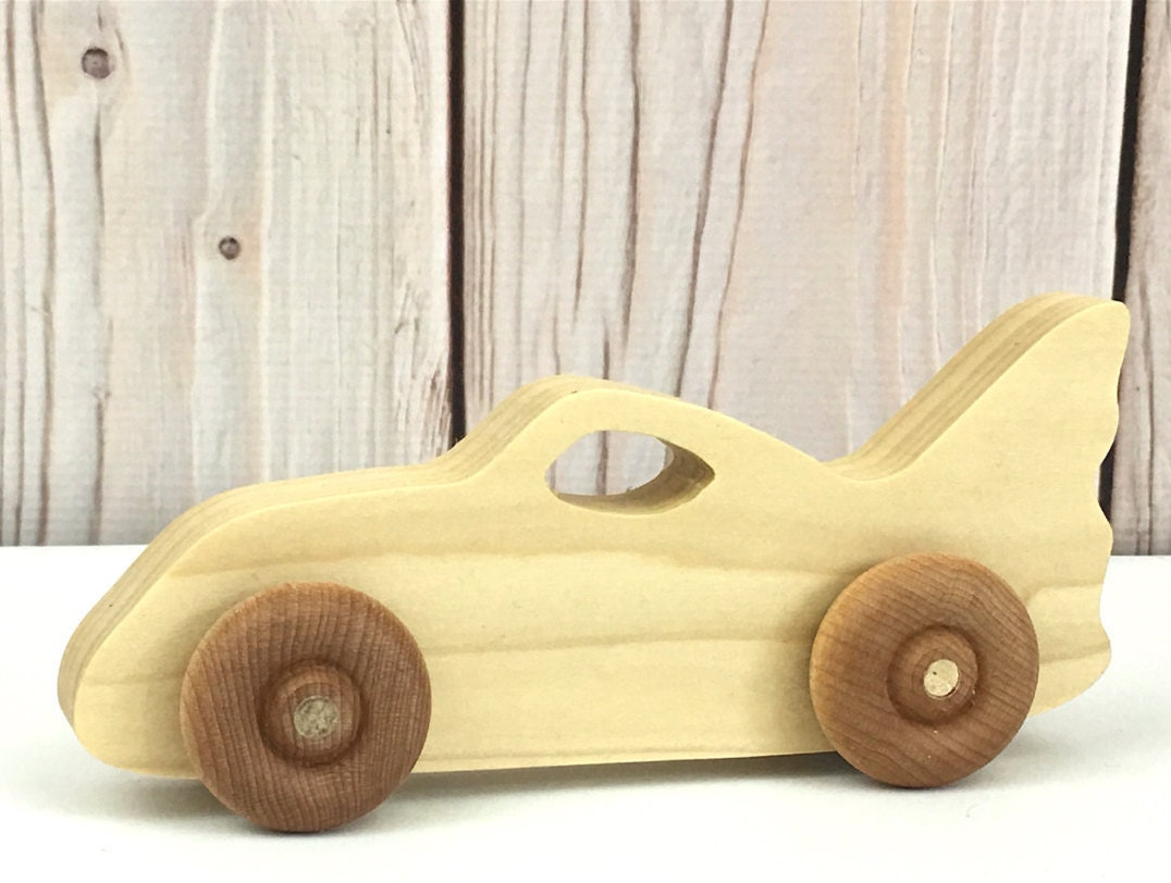 Wooden Race Car Custom Plaques