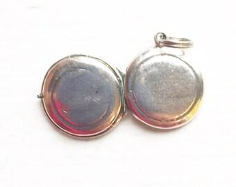 Silver .925 Locket for Charm Bracelet/Light Weight/Charm Bracelet