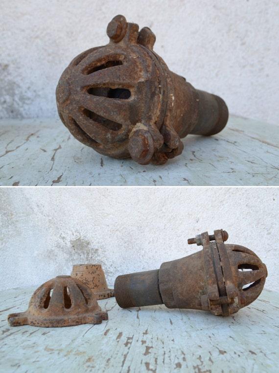 20% OFF Vintage Plumbing Parts Antique Cast Iron Gravel