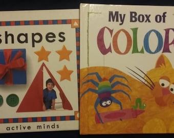 Vintage Educatonal Preschool Books