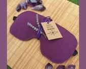 Lavender Eye Mask - Sleep - Aromatherapy - Relaxation - Yoga - Meditation - Savasana